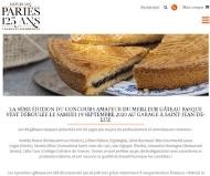 19 Septembre 2020 - La Maison Laffargue, partenaire du concours du gâteau basque Pariès