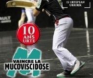 """31 août 2019 - Un tournoi de Cesta Punta au profit de """"Vaincre la Mucoviscidose""""."""